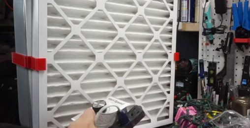 Box Fan Filter Variable Speed Fan Build