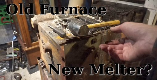 Old Hydronic Furnace to New DIY Metal Melter