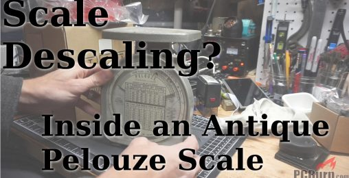 Pelouze Scale: Inside an Antique