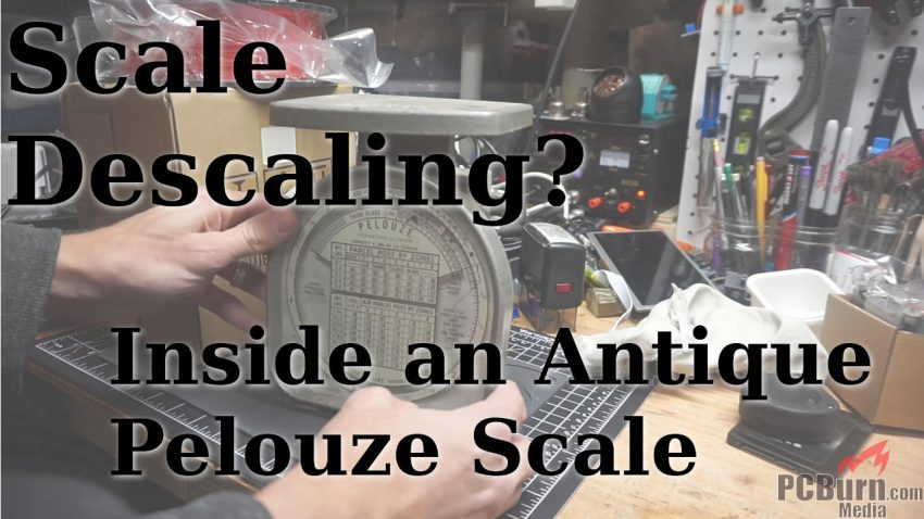 Antique Pelouze scale tear-down and repair