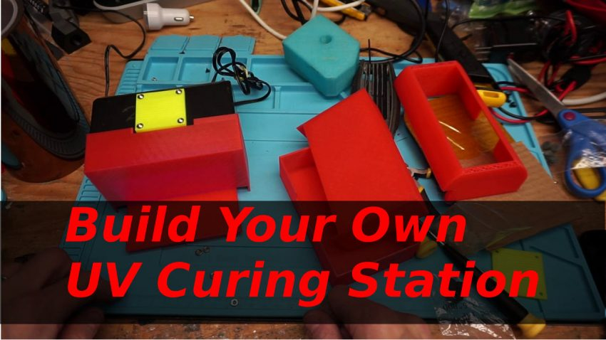 Build Your Own UV Curing Station for 3D Resin Prints