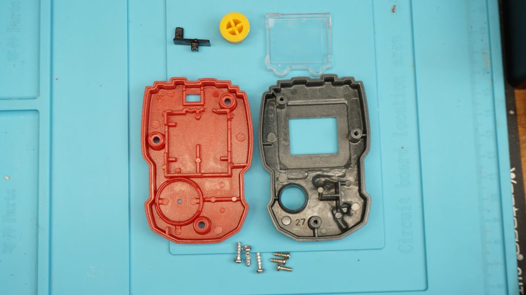 Case Components of Sonic The Hedgehog Shadow LCD Handheld Game