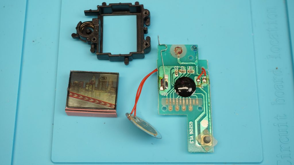 Circuit Boards and LCD panel of Sonic the Hedgehog Shadow LCD Handheld Game by McDonald's/Sega