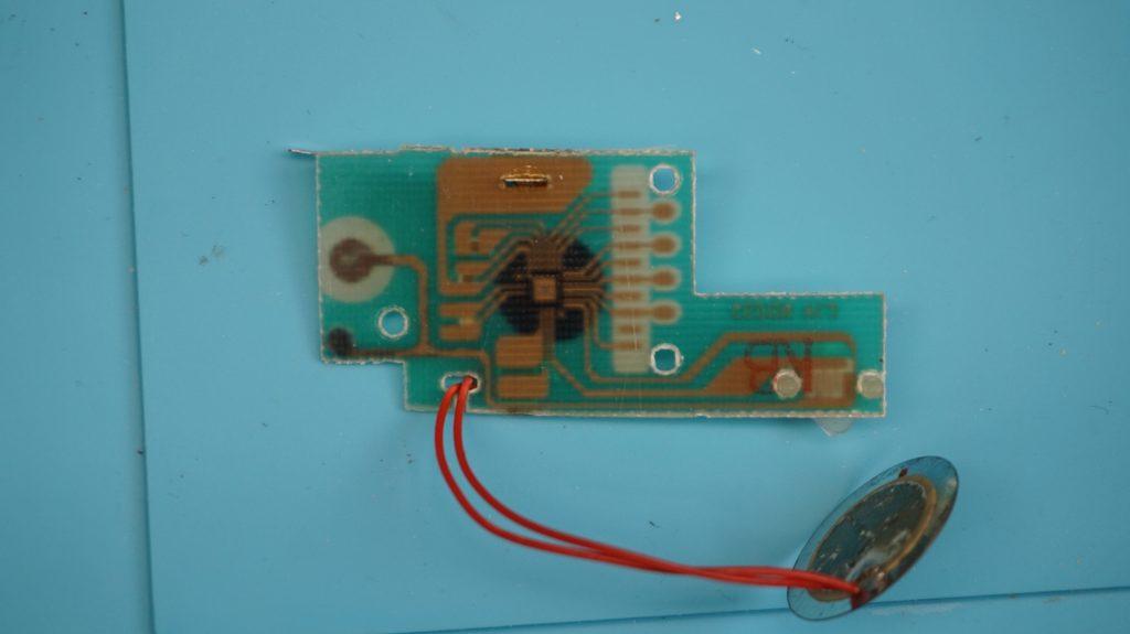 Back of Circuit board, McDonald's Sega Sonic the Hedgehog Shadow Handheld LCD Game