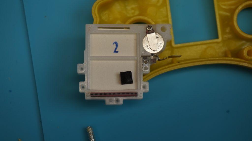 Inside Components of 2003 McDonald's Sega handheld LCD Game, Display LCD Panel