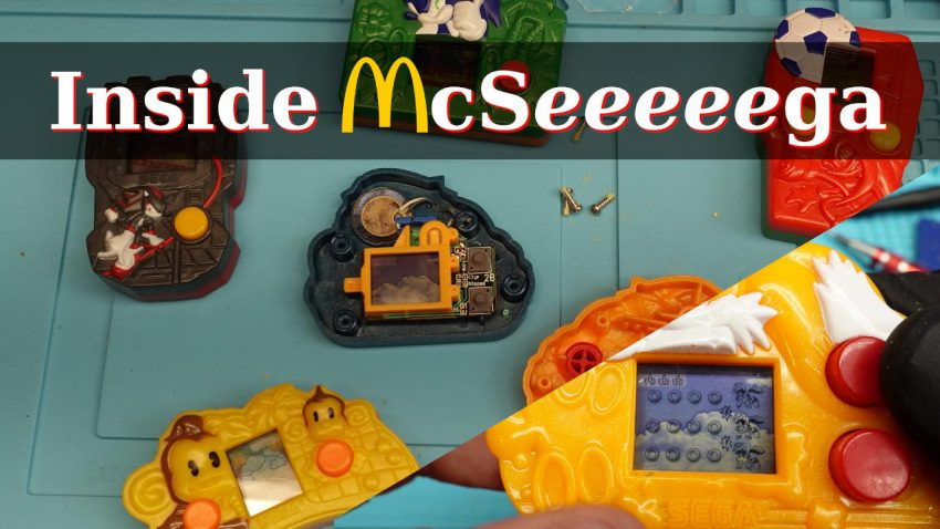 McDonald's Sega Handheld Games
